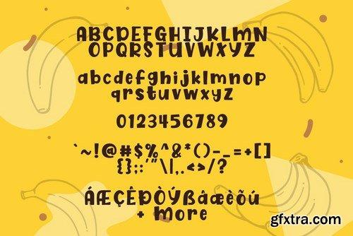 Fresh Banana Font