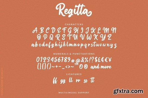 Regitta - Playful Script