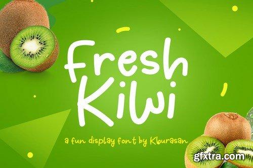 Fresh Kiwi Font