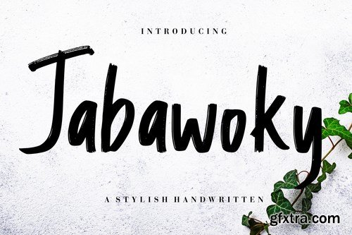 Jabawoky Stylish Handwritten Font