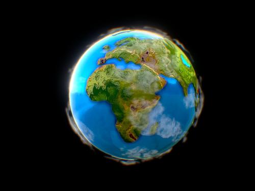 Little Planet Earth - little-planet-earth