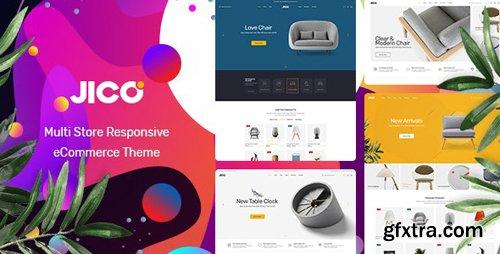 ThemeForest - Jico v1.0 - Furniture & Home Decor Responsive Prestashop Theme - 25405547