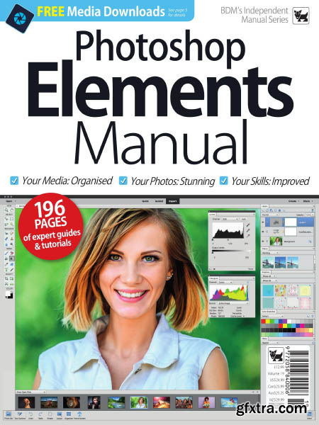 Photoshop Elements Manual – Volume 19, 2019 (HQ PDF)