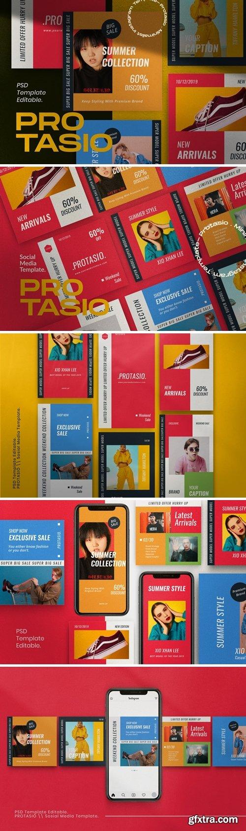 Protasio Fashion Instagram Social Media Pack 1