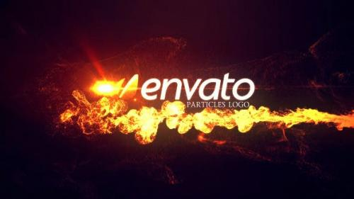 Videohive - Particles logo 3