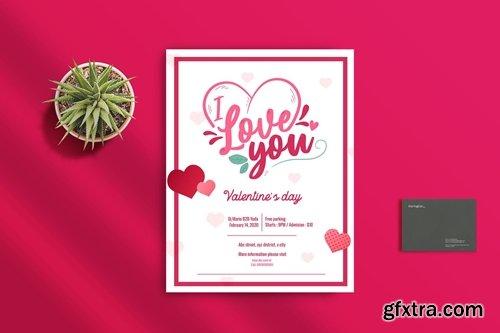 Valentine Flyer Template 1