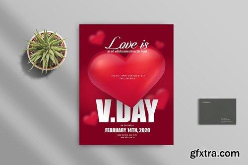 Valentine Flyer Template 2