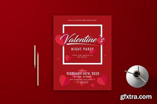 Valentine Flyer Template 4