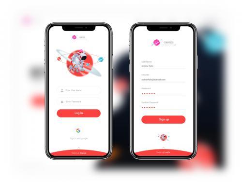 Login UI Design - login-ui-design-icons