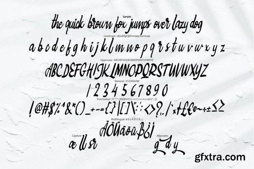 Bigtedy Modern Script