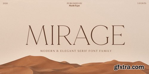 MADE Mirage Font Family