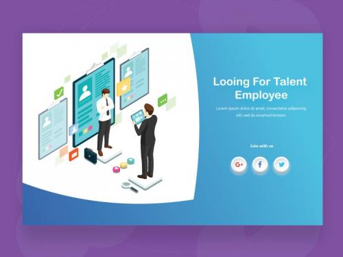 Looking for talent background employee concept - looking-for-talent-background-employee-concept