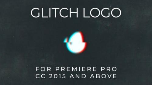 Videohive - Glitch Logo