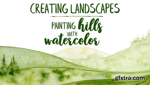 Creating landscapes : painting hills with watercolor