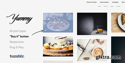 ThemeForest - Yummy v1.1.1 - Creative Portfolio Tumblr Theme - 14427790