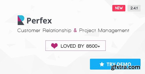 CodeCanyon - Perfex v2.4.1 - Powerful Open Source CRM - 14013737