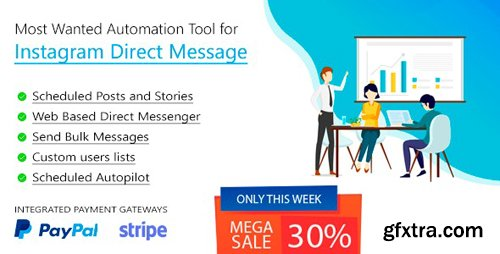 CodeCanyon - DM Pilot v3.0.7 - Instagram Most Wanted Automation Tool for Direct Message & Scheduled Posts - 23624241
