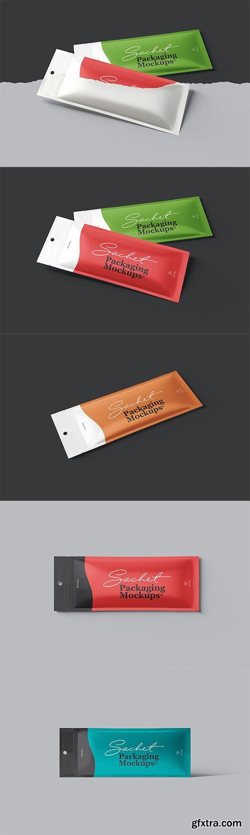 Sachet Packaging Mockups