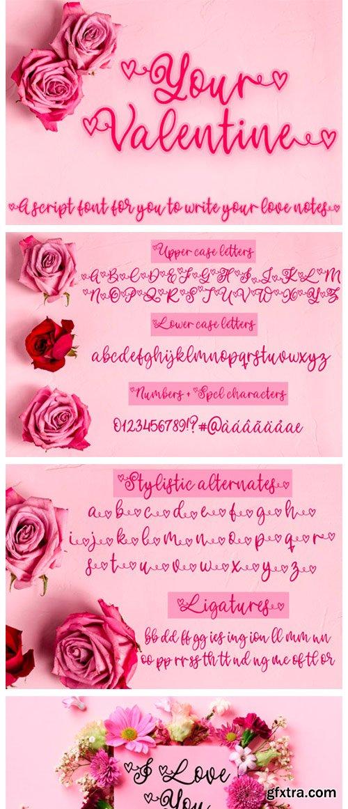 Your Valentine Font