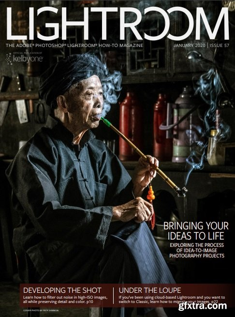 Lightroom Magazine - January 2020 + Tutorial Files
