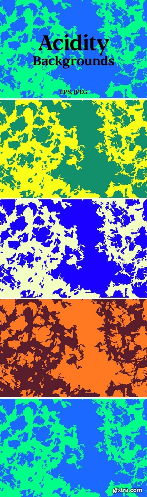 Acidity Vector Backgrounds