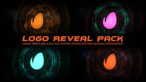 Videohive - Logo Intro Fire / Logo Reveal Pack