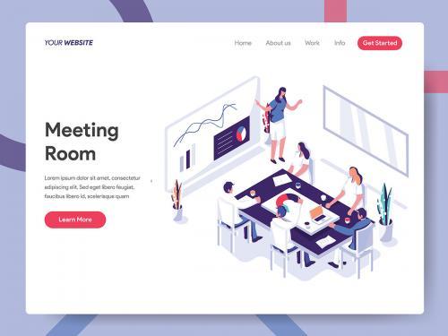 Meeting Room Illustration - meeting-room-illustration-07fc6db0-4ff9-4d9f-a59a-00eb70e4ef52