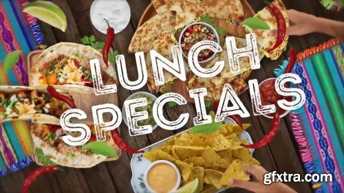 Videohive Mexican Restaurant Pack 25508022