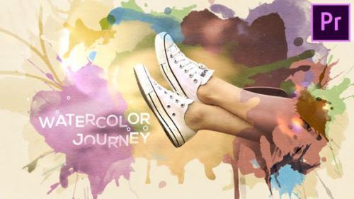 Videohive - Watercolor Journey
