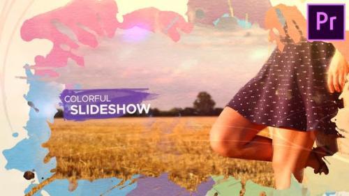 Videohive - Watercolor Parallax Slideshow