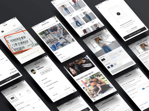 Minimal & Clean E-Commerce App - minimal-clean-e-commerce-app