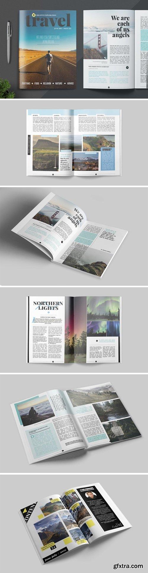 Magazine Template FXYEN85