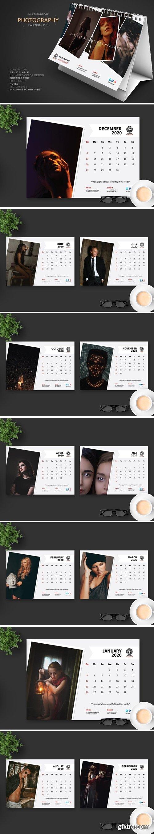 2020 Creative Photography Calendar Pro