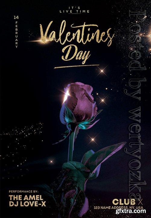 Valentines Day - Premium flyer psd template