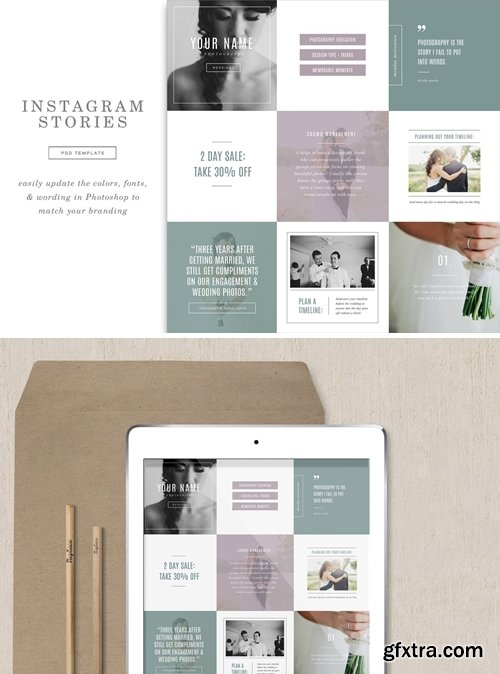 Wedding Instagram Stories Templates