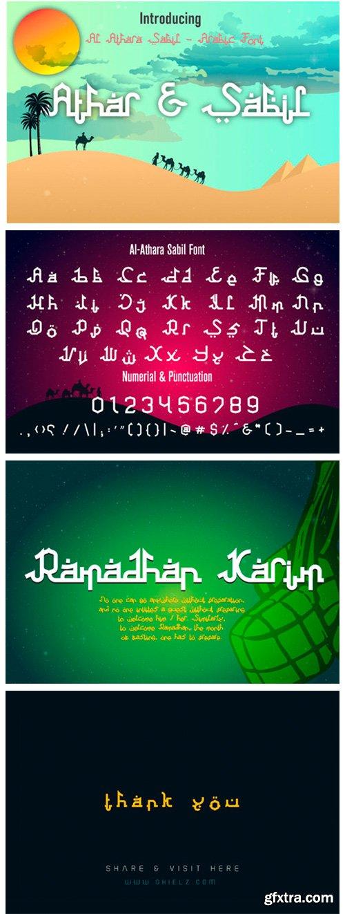 Athar & Sabil Font