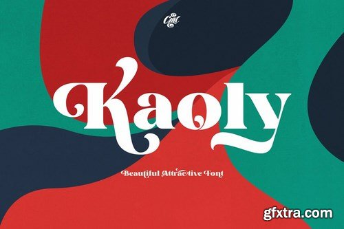 CM - Kaoly - Beautiful Attractive Font 4479354