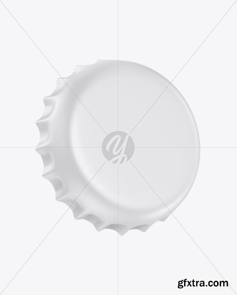Matte Bottle Cap Mockup 53506