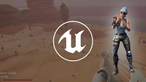 Udemy - Create a Battle Royale game using Unreal Engine 4 Blueprints