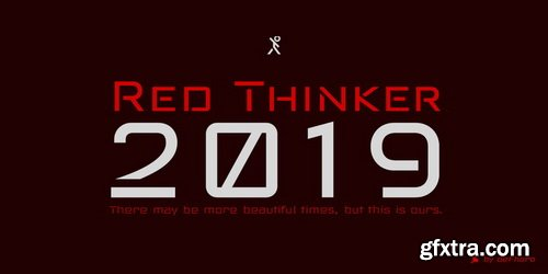 Red Thinker Font Family