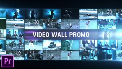 Videohive - Video Wall Promo - Premiere Pro