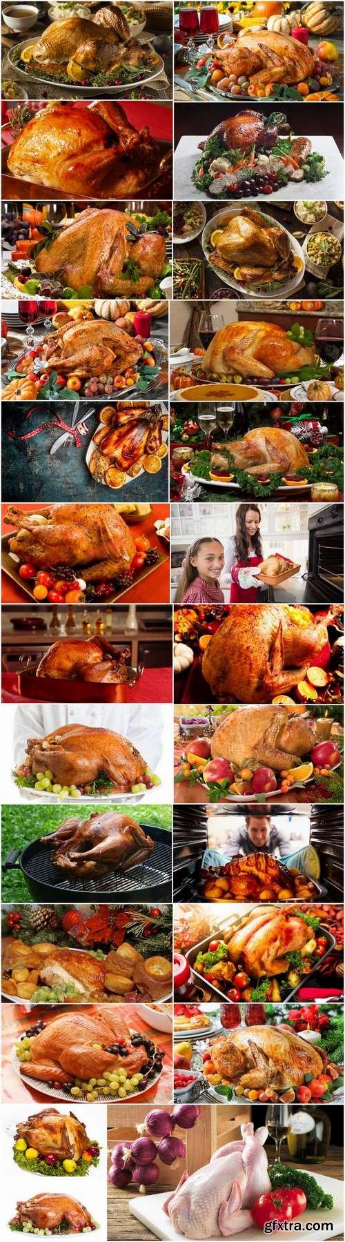 Roast turkey gobbler hen holiday dish 25 HQ Jpeg
