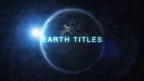 Videohive - Earth Titles