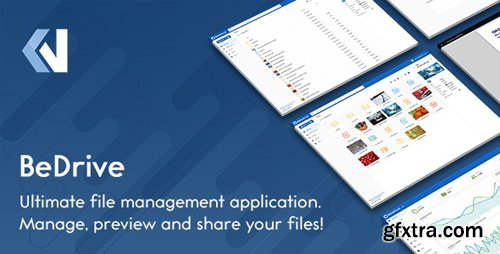 CodeCanyon - BeDrive v2.2.0 - File Sharing and Cloud Storage - 12700384