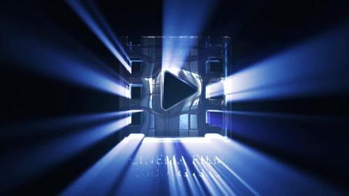 Videohive - Cinematic Light Rays Logo Reveal