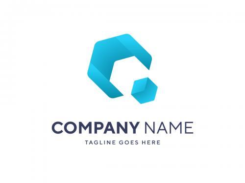 Modern Business Logo Template Vector Cube Style Logo - modern-business-logo-template-vector-cube-style-logo