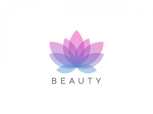 Modern flower logo design vector template - modern-flower-logo-design-vector-template