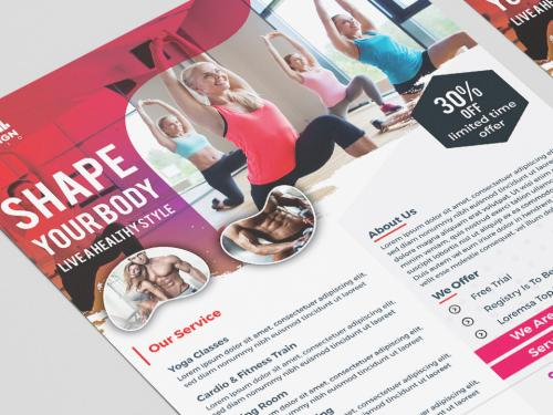Modern GYM Flyer For GYM Business - modern-gym-flyer-for-gym-business-8b3f4830-6bc6-43cc-b19d-fe402dcd6575