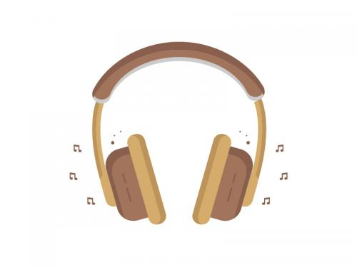 Modern Headphone Illustration - modern-headphone-illustration