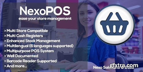 CodeCanyon - NexoPOS v3.15.0 - Extendable PHP Point of Sale - 16195010 - NULLED